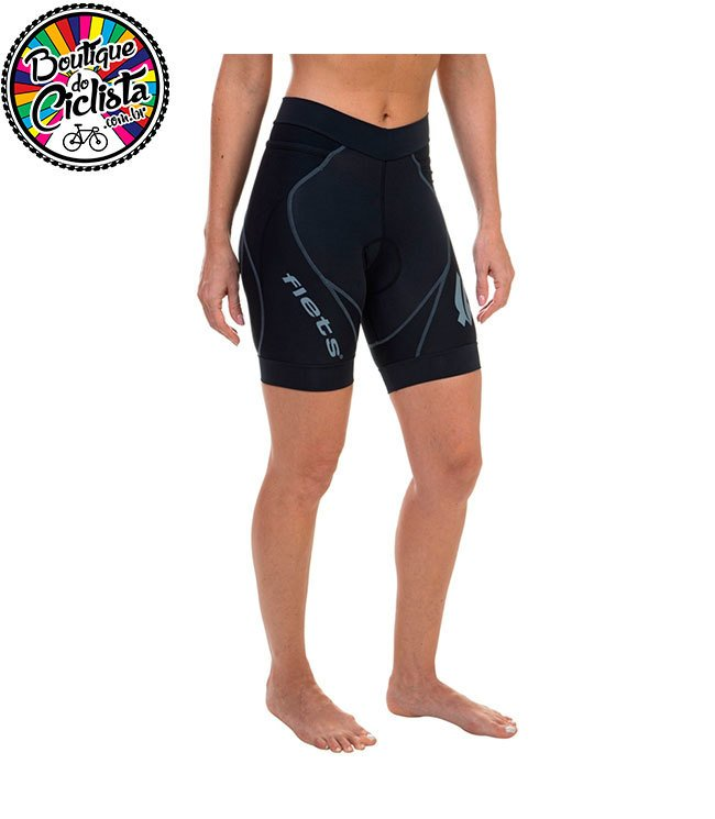 Bermuda Feminina Multisport - Triathlon - Preta. 0% OFF 59fbbb781ec8a