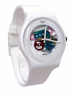 Reloj Swatch White Lacquered Suow100 - comprar online