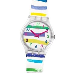 Reloj Swatch Colorland Ge254 Mujer