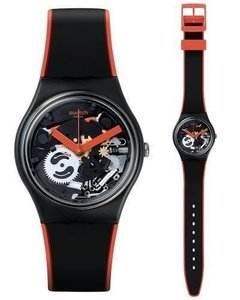 Reloj Swatch Red Frame Gb290 - comprar online