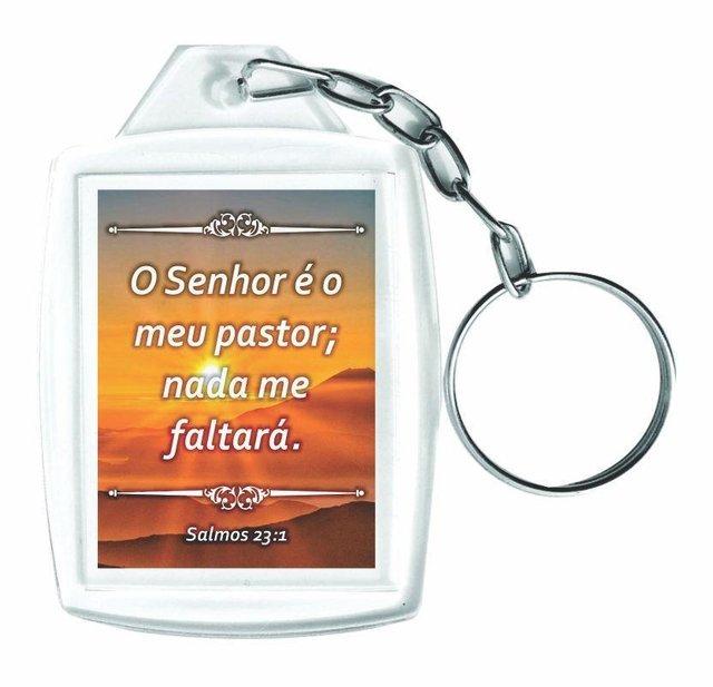 80f036737137e Chaveiro Acrílico Personalizados com Frases Religiosas 60 Peças