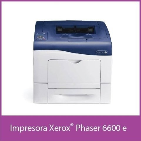 Impresora Laser Color Xerox Phaser 6600 Servicio Post-venta