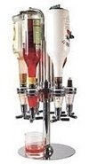 Dispenser Bebidas 6 Botellas Giratorio Bar Palermo O Centro - comprar online