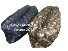 Puff Inflable +bolso +bolsillo +portalatas Lazybag Air Relax - comprar online