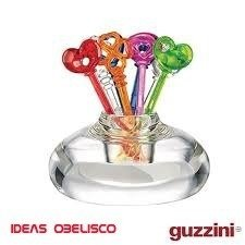 Set 12 Pinches Copetin Guzzini Original +base Ideas Obelisco