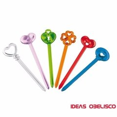 Set 12 Pinches Copetin Guzzini Original +base Ideas Obelisco - comprar online