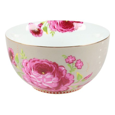 FLORAL BOWL ROSE CAQUI