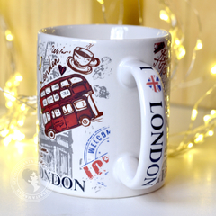 Caneca I Love London na internet