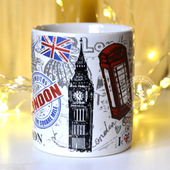Caneca I Love London - comprar online