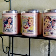Latas Retro Decoradas