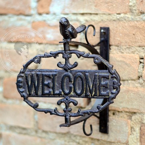 Placa Welcome comprar