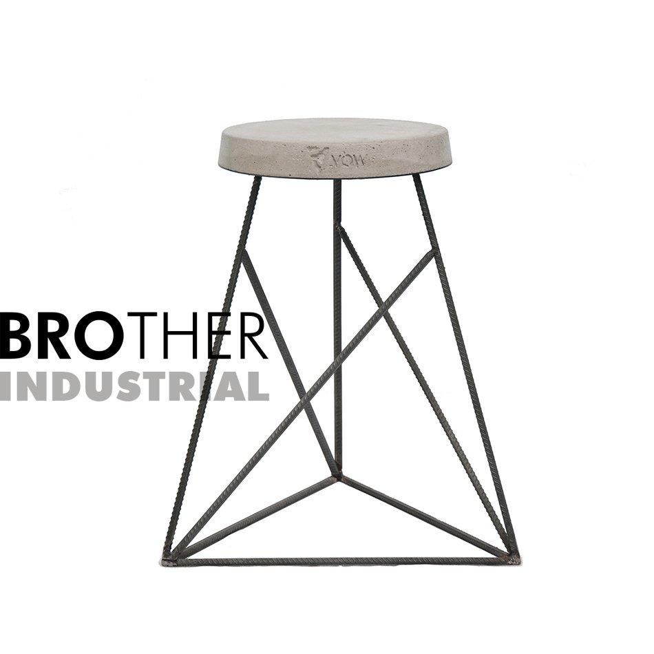 Taburete Diseo.Taburete Banquito De Diseno Brother Mod Industrial
