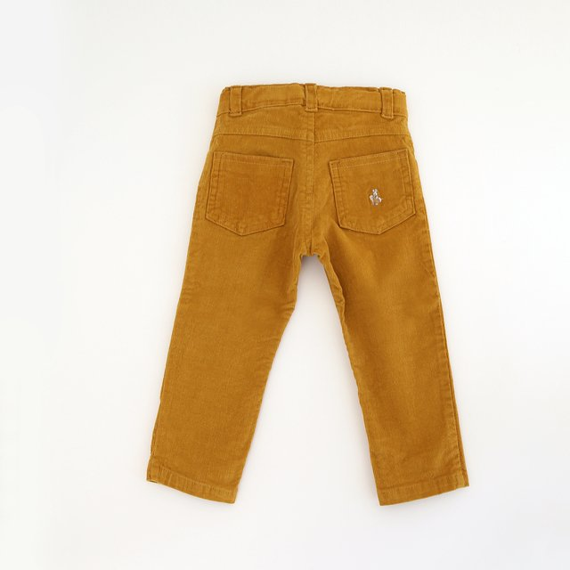 Pant corderoy / Curry - comprar online