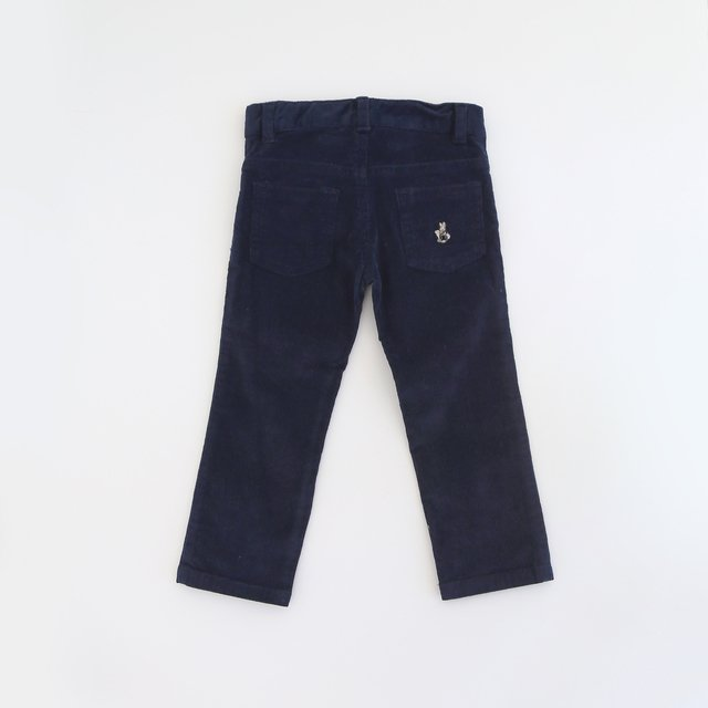 Pant corderoy / Marino - comprar online