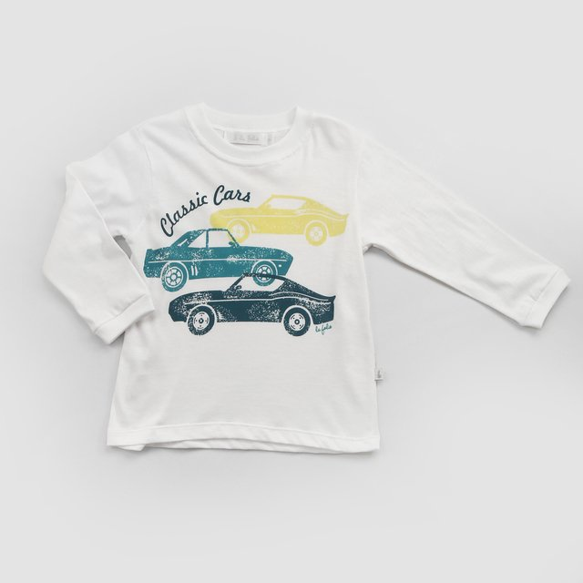 Remera estampada/ autos vintage