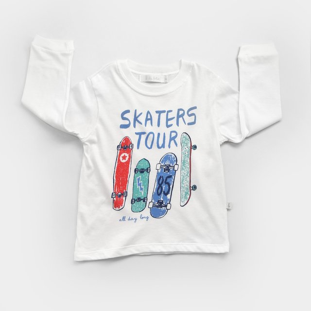 Remera estampada/ Tablas Skate
