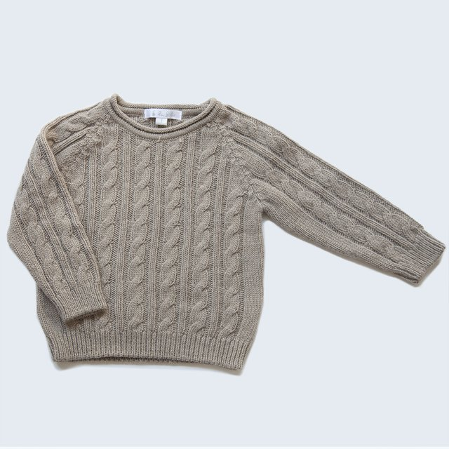 Sweater Ochitos / Beige