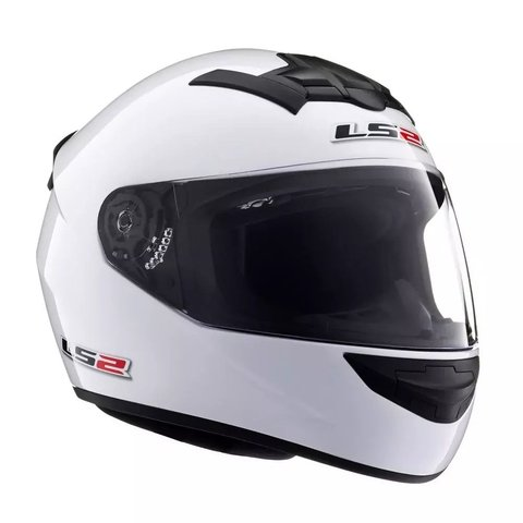 Casco LS2 Single Mono Blanco brillante352