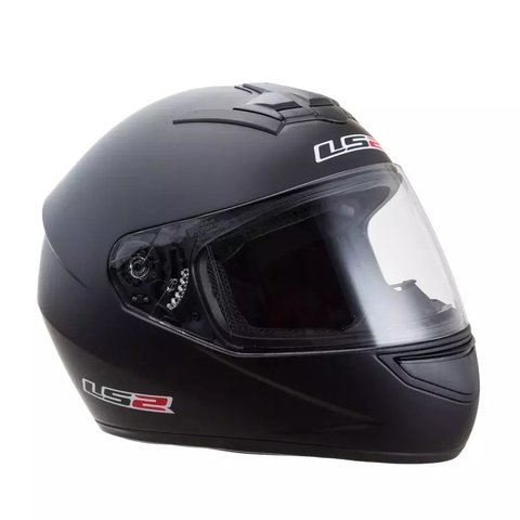 Casco LS2 Single Mono negro mate 352