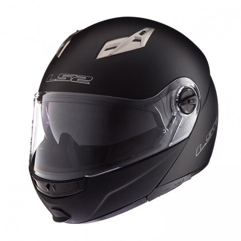 CASCO 370 EASY NEGRO MATE REBATIBLE
