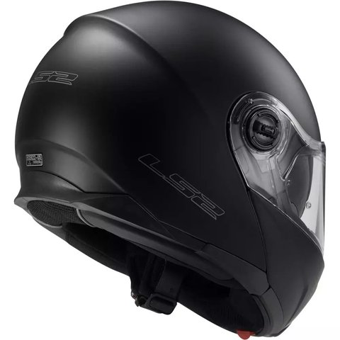 Casco LS2 Strobe Solid Matt Black 325