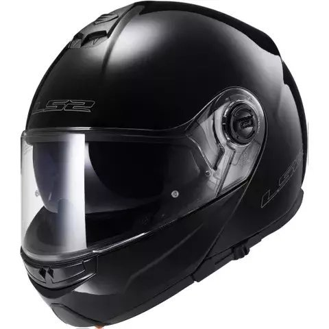 Casco LS2 Strobe Solid Gloss Black 325