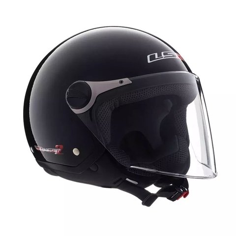 Casco LS2 Rocket II negro brillante 560