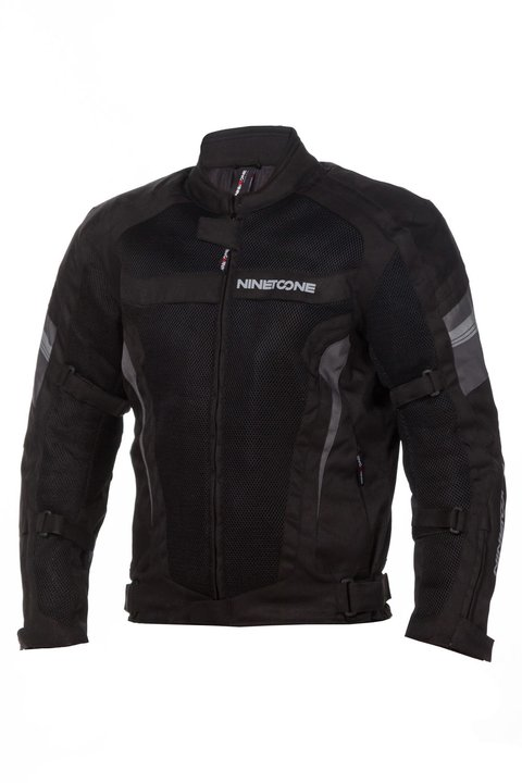 CAMPERA CORDURA 4S NEGRO GRIS NINE TO ONE by LS2