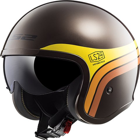 CASCO LS2 599 SPITFIRE SUNRISE BROWN