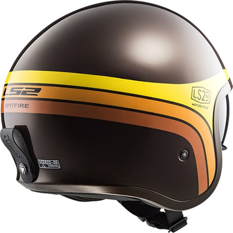CASCO LS2 599 SPITFIRE SUNRISE BROWN - comprar online