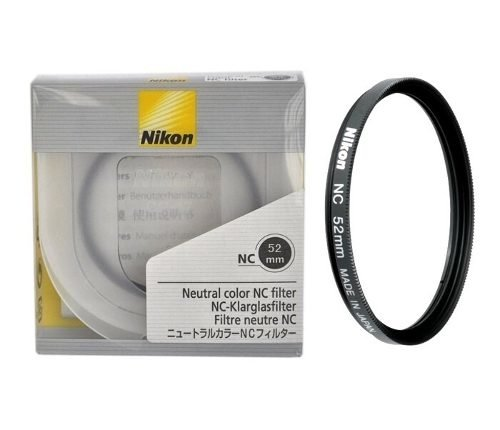 Filtro Uv Protetor Digital Nikon Nc Original Japan  52mm Nc - comprar online