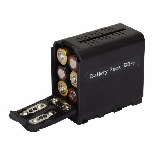 Iluminador 160 Leds + Power Bank Battery Bb 6 Combo