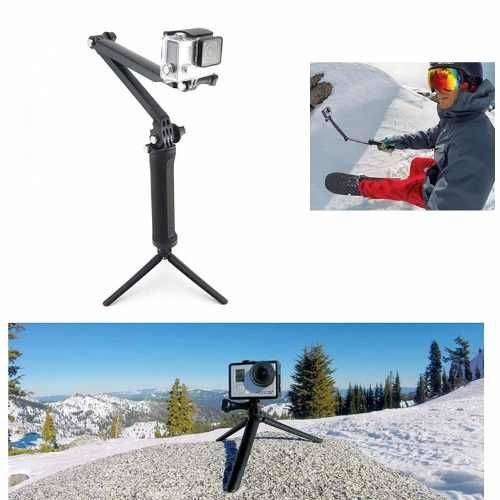 Monopod Articulado Palo Selfies 3 Way Tripode Gopro Steady - webpower654
