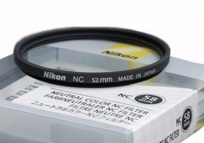 Filtro Uv Protetor Digital Nikon Nc Original Japan  52mm Nc