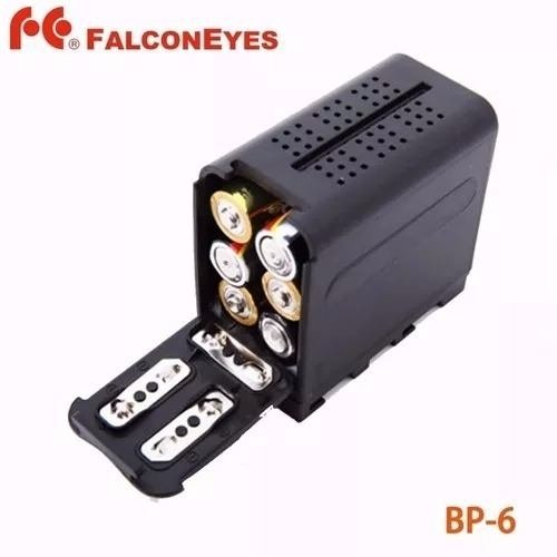 Power Pack Calce Bateria Np-f970 P Iluminadores Led Yn-300ii