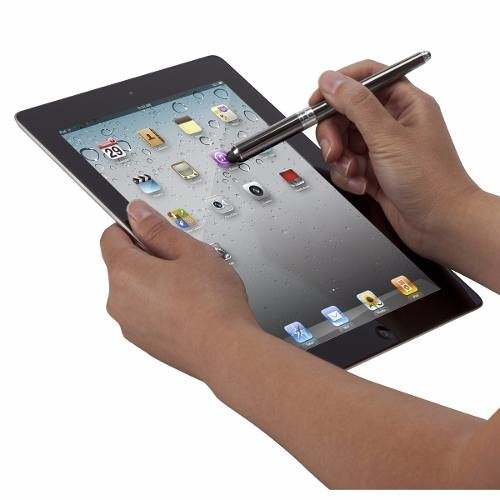 Lapiz  Optico  2 In 1  Para  Ipad Iphone Ipod Touch 2 In 1