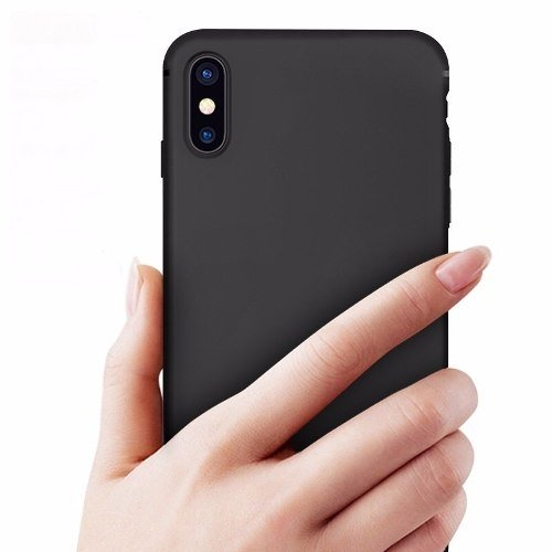 Funda Protector Iphone X Tpu Apple Silicone Ultrafino