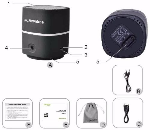 Parlante Portatil Bluetooth Para Pc Avantree Pluto Air Webpo en internet
