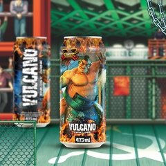 Kit Vulcano Energy Drink 473ml Street Fighter - comprar online
