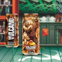 Kit Vulcano Energy Drink 473ml Street Fighter na internet