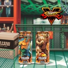 Kit Vulcano Energy Drink 473ml Street Fighter