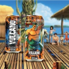 Kit Vulcano Energy Drink Street Fighter Todas as latas - comprar online