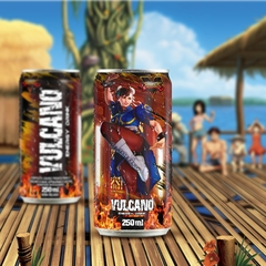 Imagem do Kit Vulcano Energy Drink Street Fighter Todas as latas