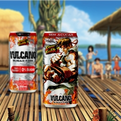 Kit Vulcano Energy Drink Street Fighter Todas as latas - Loja Vulcano