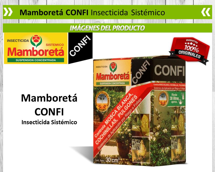 Mamboreta Confi / Insecticida Sistémico