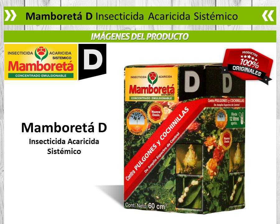 Mamboretá D - Insecticida Acaricida Sistémico