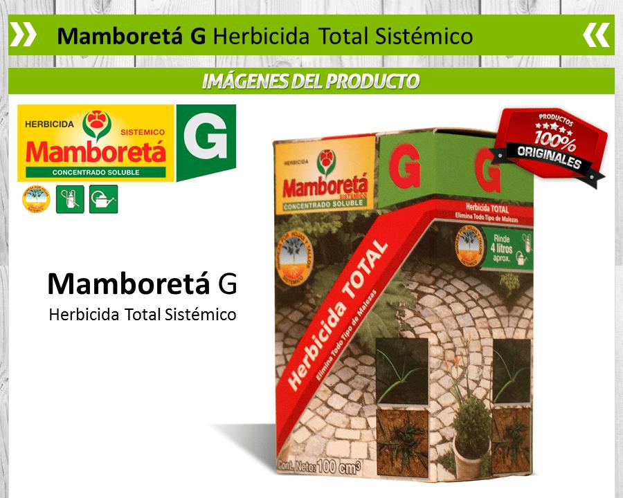 Mamboretá G - Herbicida Total Sistémico