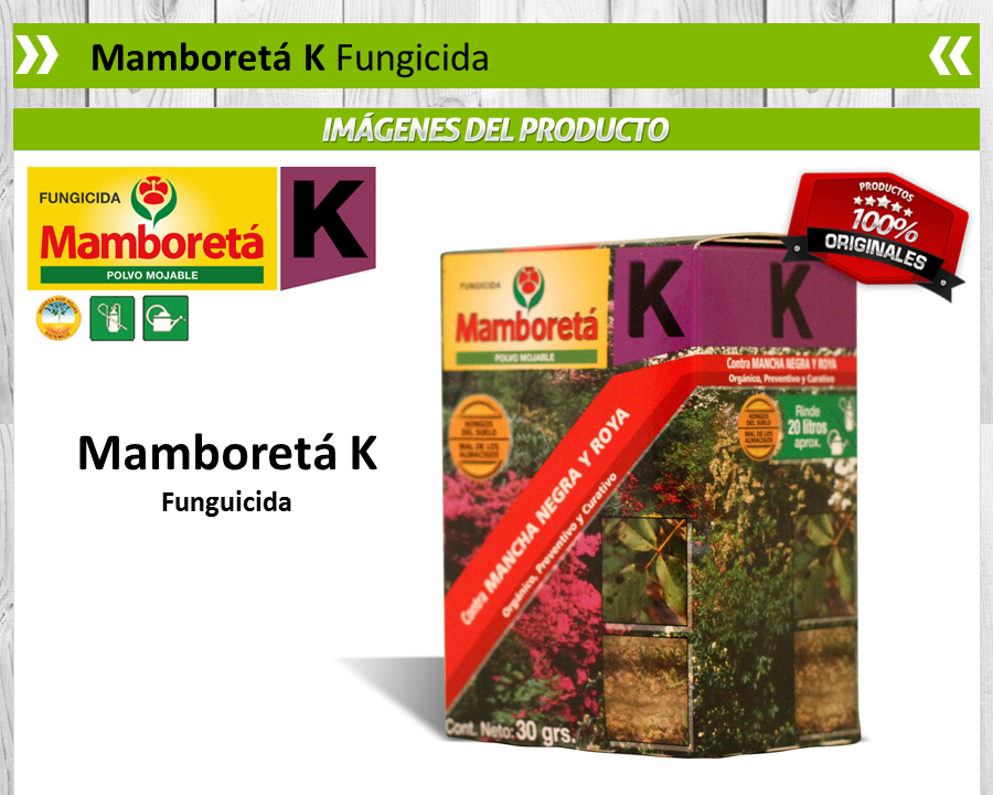 Mamboretá K - Fungicida