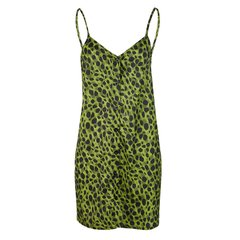 Vestido Animal Print Verde na internet