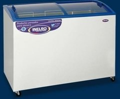 Freezer Horizontal 340 lts Con Vidrio Plano Inclina INELRO Co